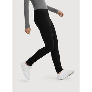 "Kit and Ace black tall 33"" inseam ponte leggings"